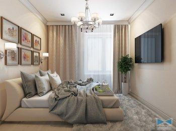 Гостевая спальная комната
