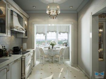 Кухня-гостиная, холл