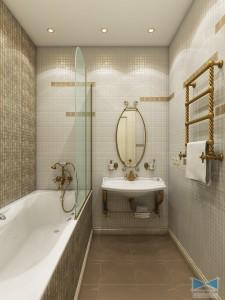 Освещение ванной комнаты: делаем помещение уютным