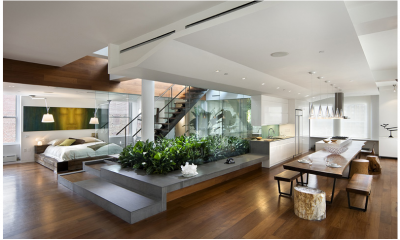 Двухуровневые квартиры — стиль, красота и комфорт