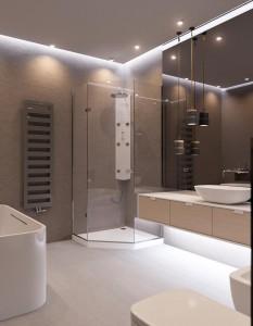 Красота и практичность керамической плитки в ванной комнате