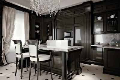 Дизайн интерьера в стиле неоклассика для квартиры «Басманный 5»