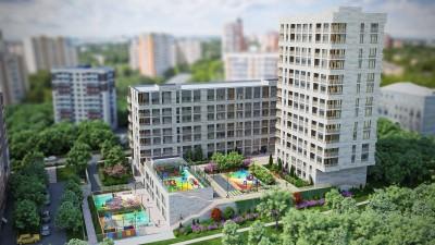 Неповторимые дизайнерские интерьеры квартир для клубного дома на Кунцевской